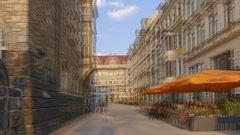 Leipzig, Thomaskirchhof (3D)