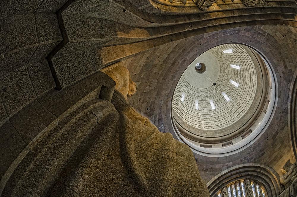 Leipzig - Völkerschlachtdenkmal in der Krypta