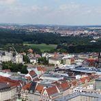 Leipzig vom City-Hochhaus