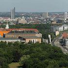 Leipzig vom Völkerschlachtdenkmal