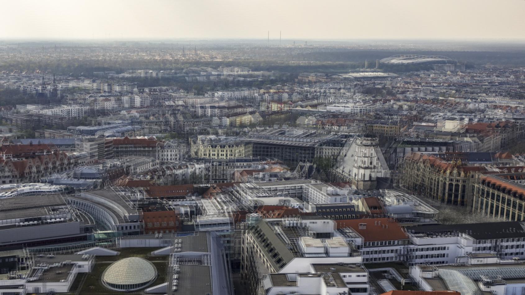 Leipzig von oben 3 (3D)