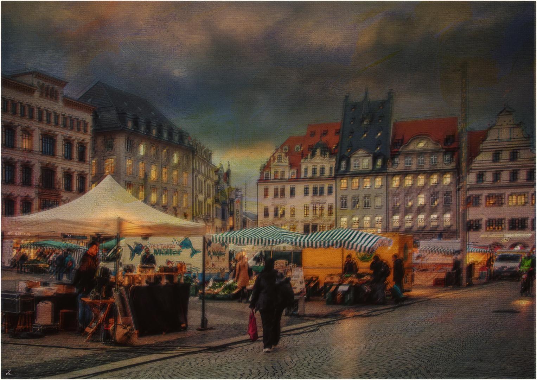 Leipziger Ansichten: Der Markt