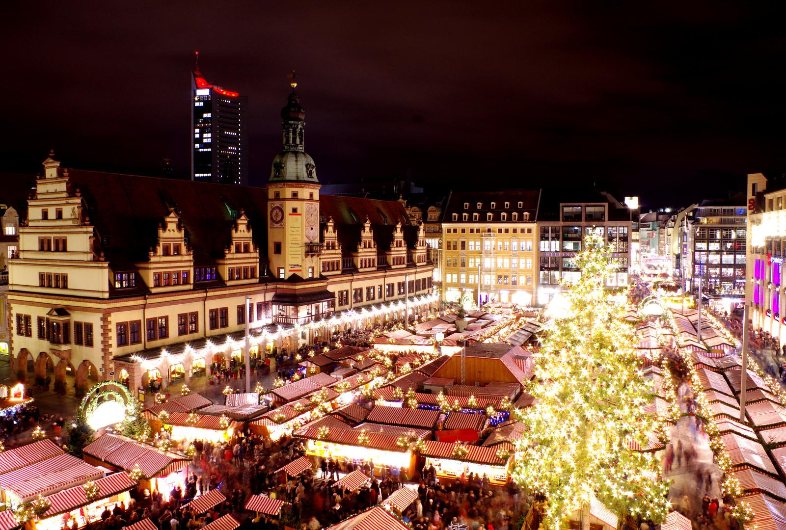 Leipziger Weihnachtsmarkt.Leipziger Weihnachtsmarkt Foto Bild Deutschland Europe