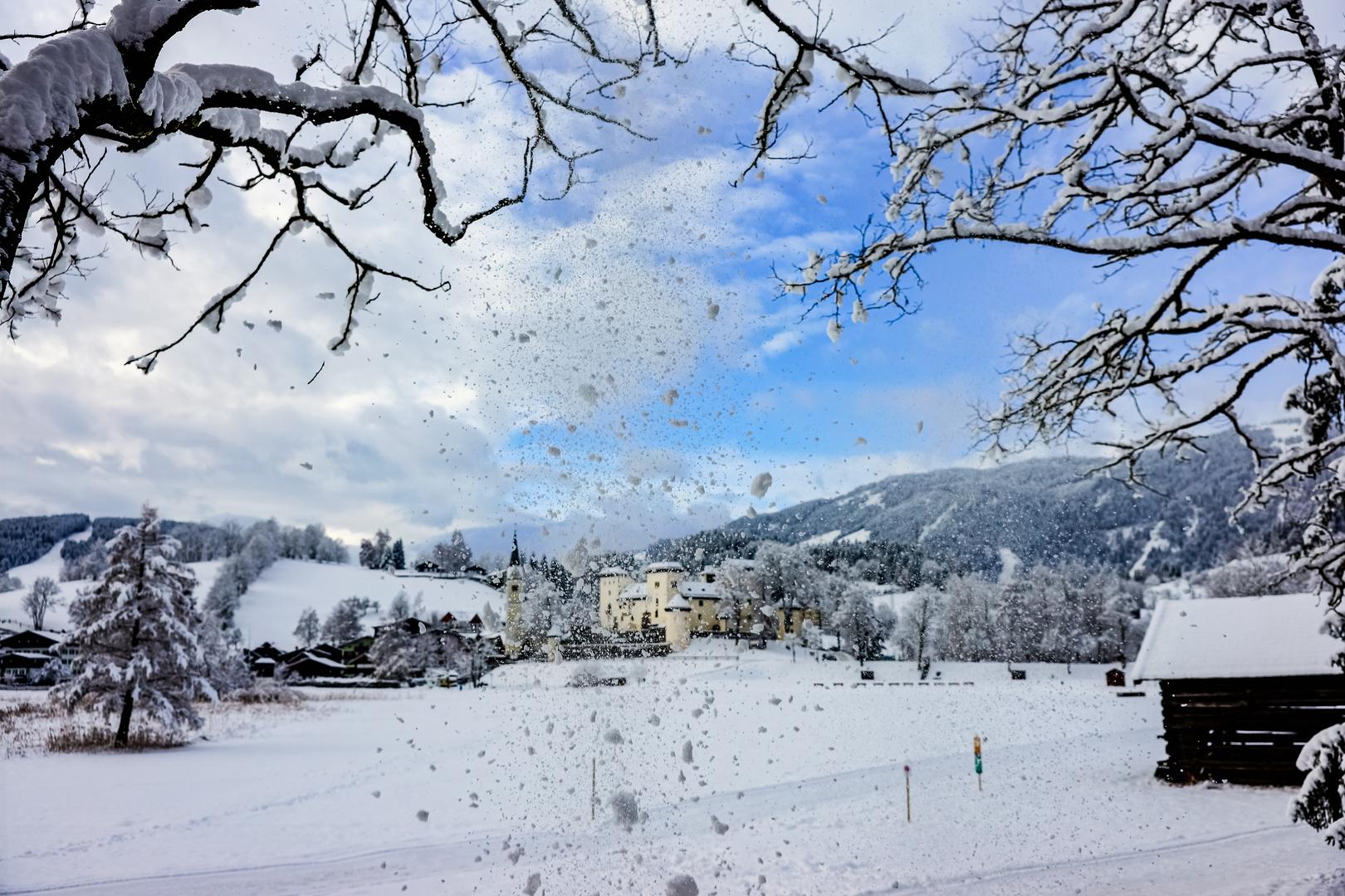 Leise rieselt der Schnee....