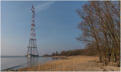Leitung über die Elbe