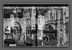 Lemgo - Straße im Spiegel