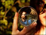 ~ lena and the magic crystal ball ~