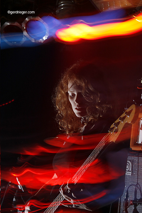 Lena Jeckel, Bass, Claus Grabke Band.