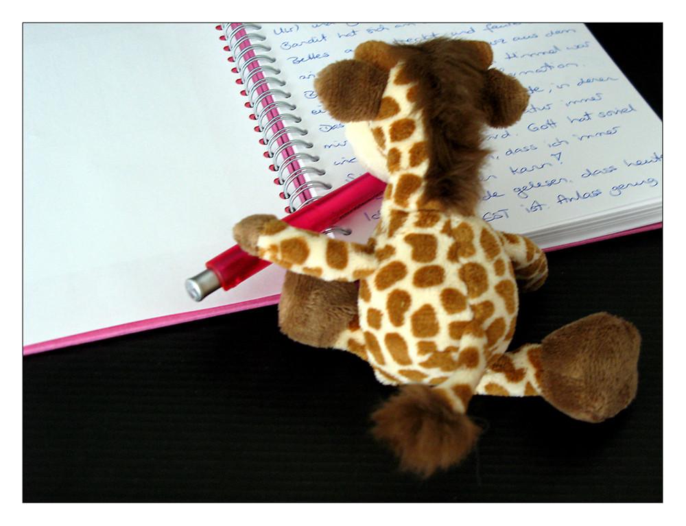Lena schreibt Tagebuch