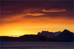 Lenticularis sunrise