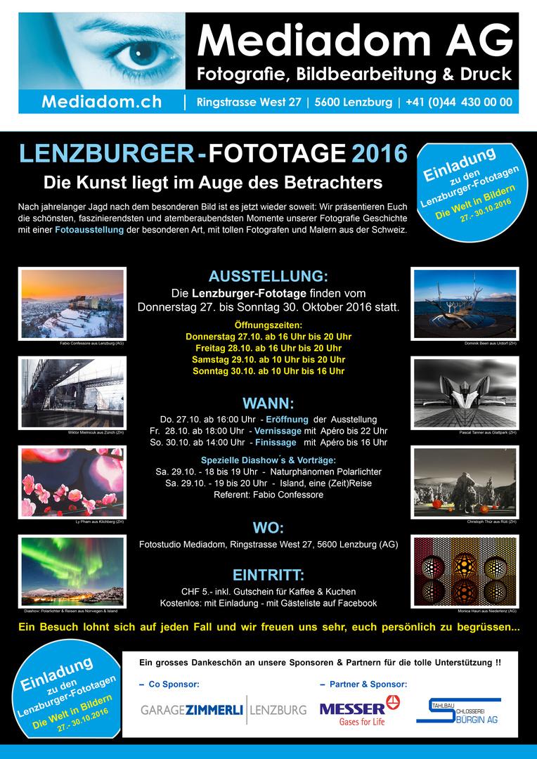 Lenzburger Fototage