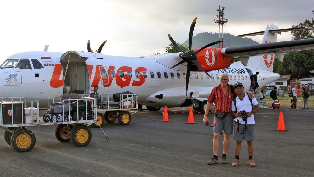 Leo & Roli in Ende/Flores/Indonesien