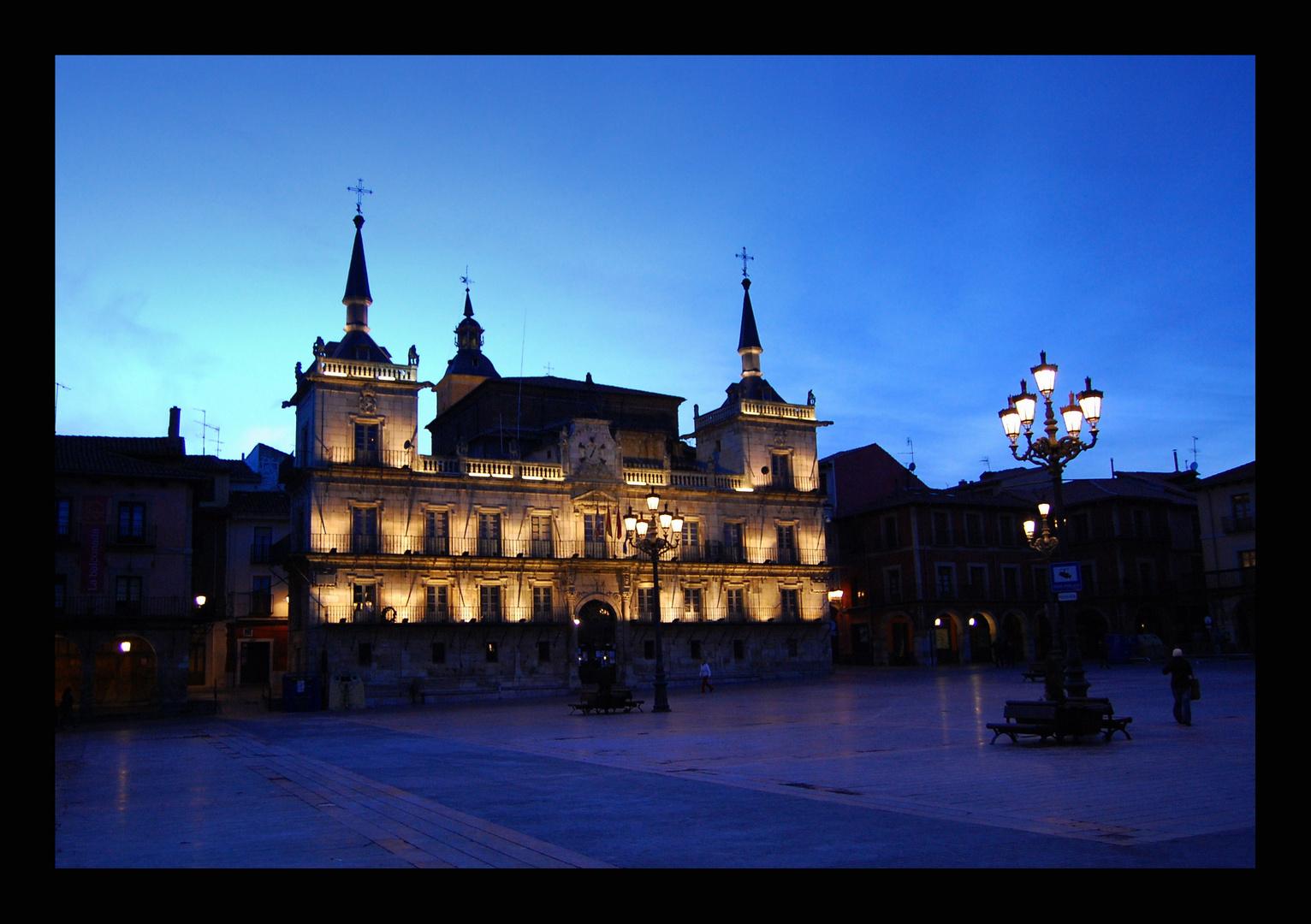 León: Plaza Mayor.