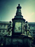 Leonardo da Vinci Denkmal, Milano