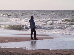 Lerne das Meer verstehen höre dem Meer zu es sagt Dir was und wer Du bist...