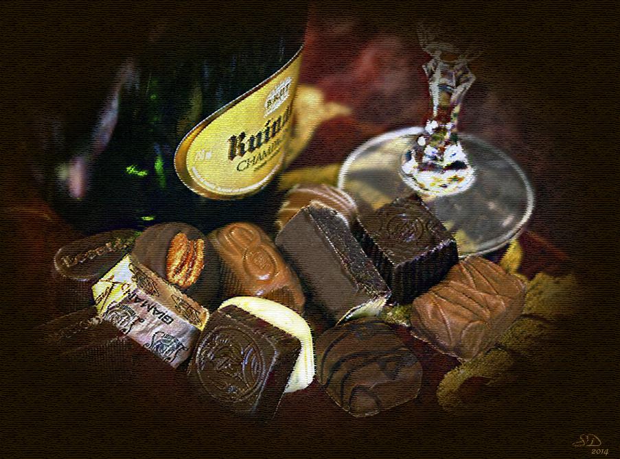 Les 12 chocolats .