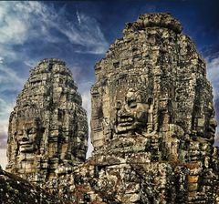 Les 4 visages de Bouddha