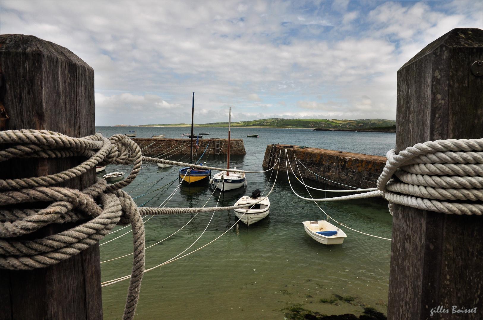 les amarres de port Racine