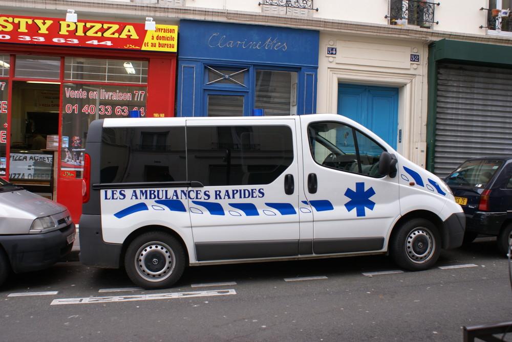 les ambulances rapides