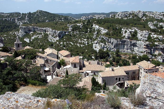 Les Baux de Provence - Dächer