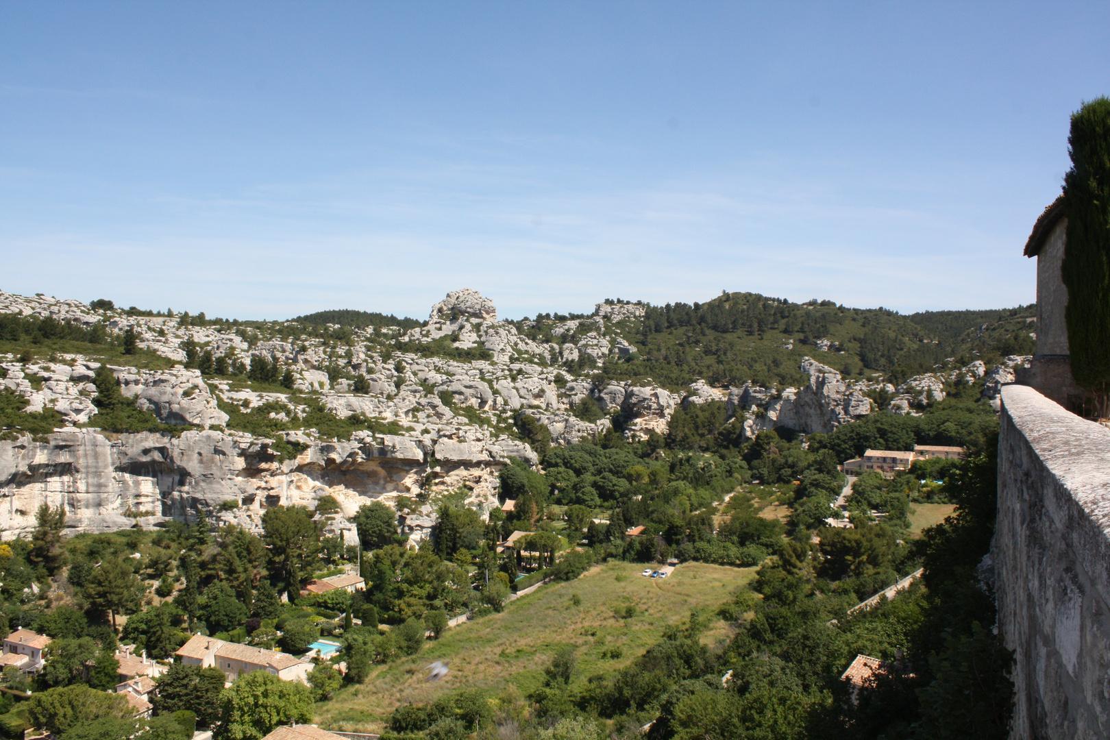 Les Baux de Provence - Le Val d'Enfer