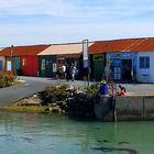 Les cabanes du  port de St Trojan
