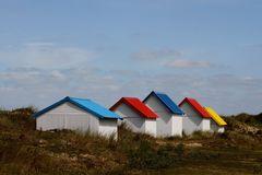 """"""" Les cabines de plage """""""