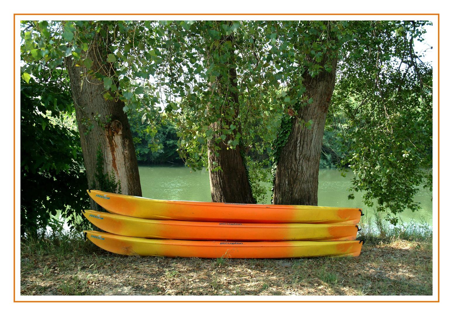 les canoës du tavignano