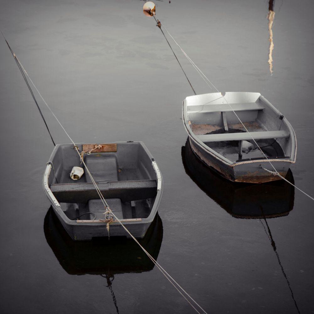 les canots à Concarneau