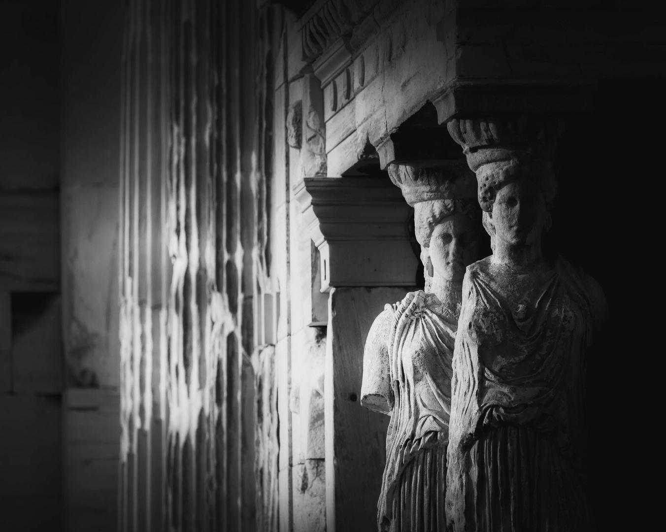 Les cariatides - Erechthéion/Acropolis