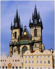 Les clochers de Prague