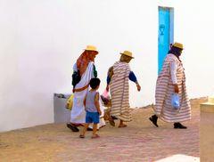 Les Djerbiennes.