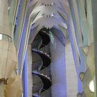 Les escaliers de la Sagrada Familia