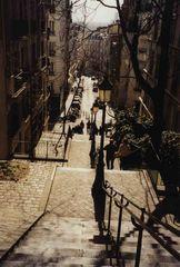 Les éscaliers de Montmartre