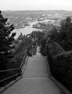 Les escaliers du Tréport