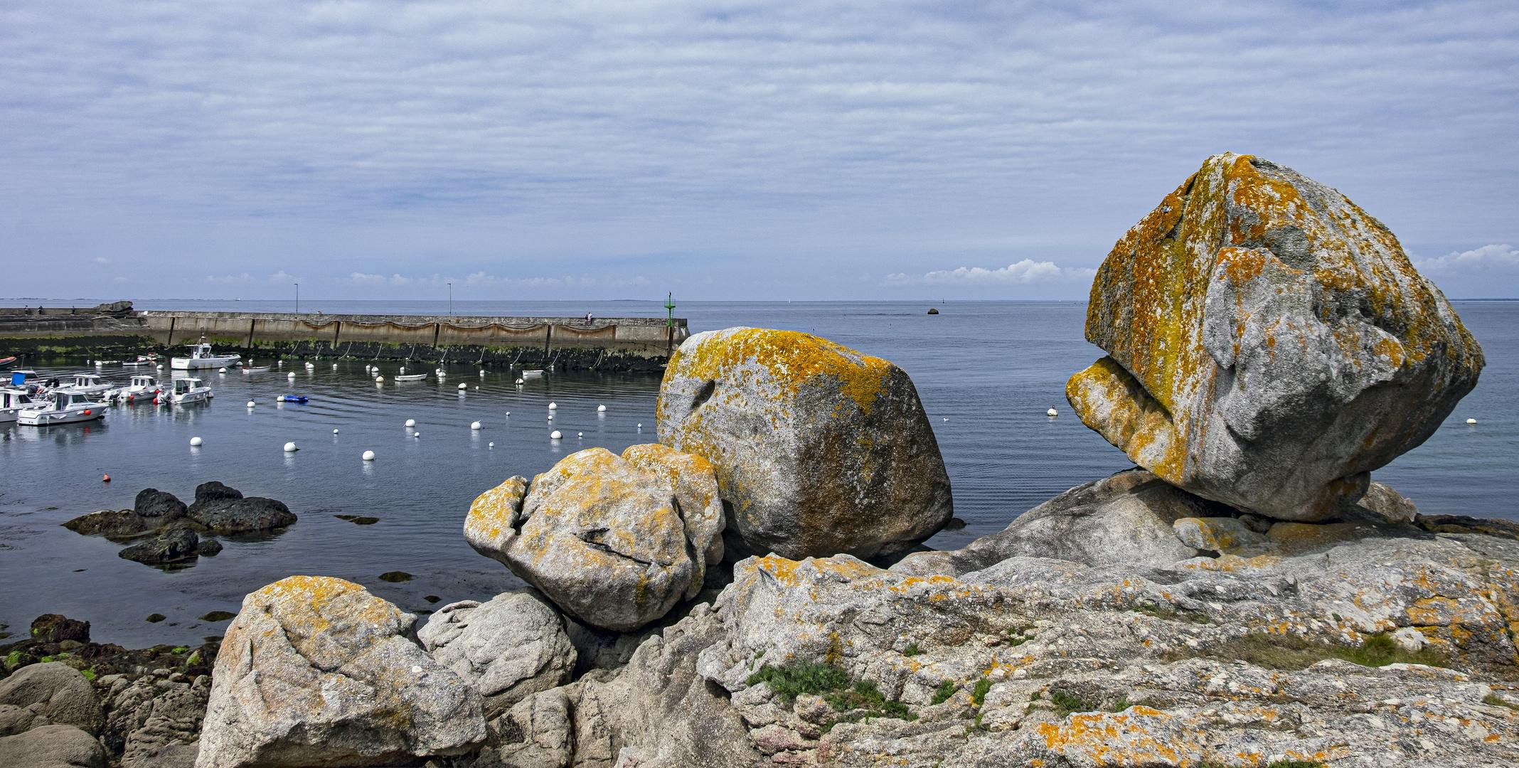 Les gros rochers