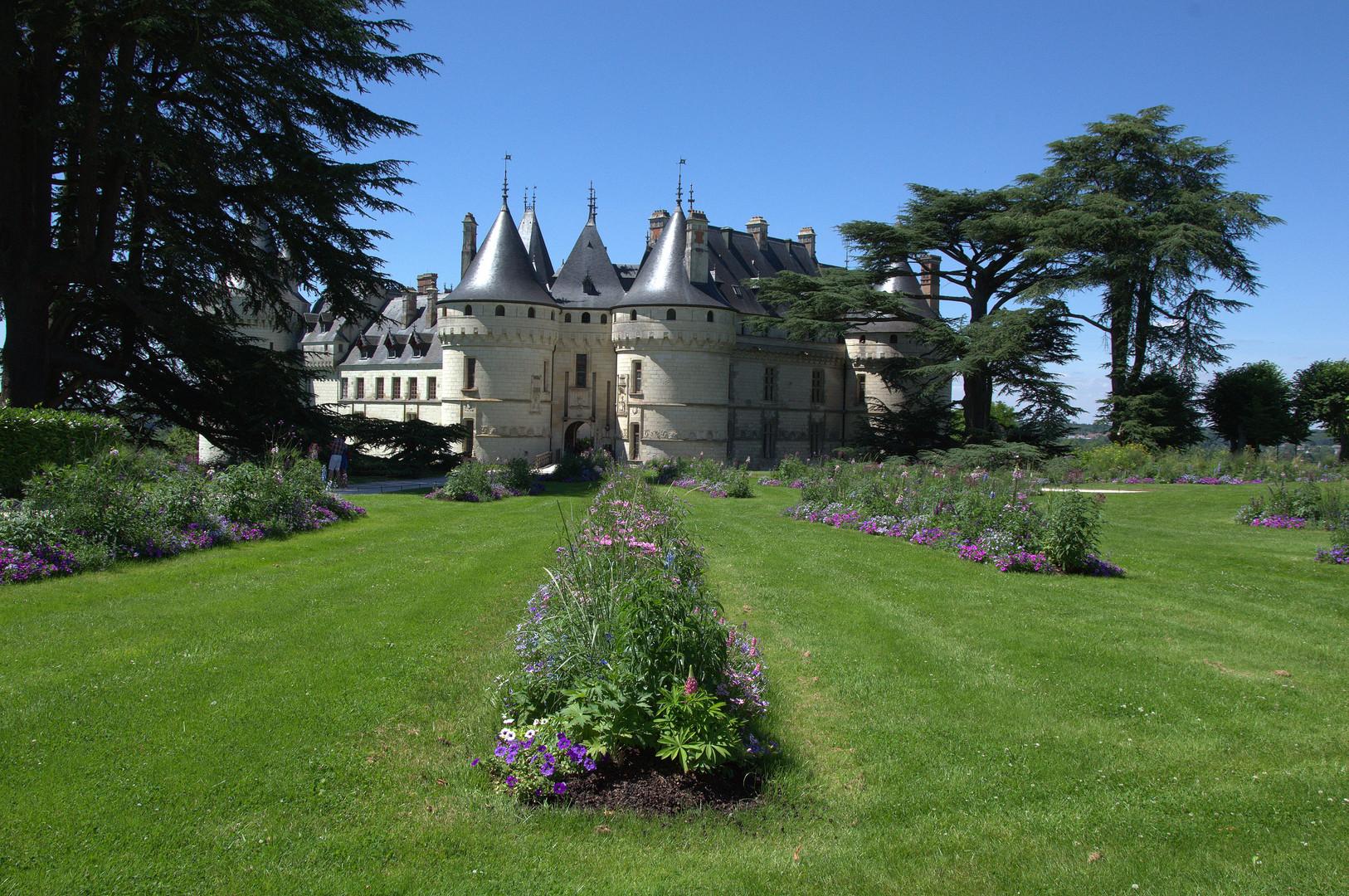 Les jardins autant que le château