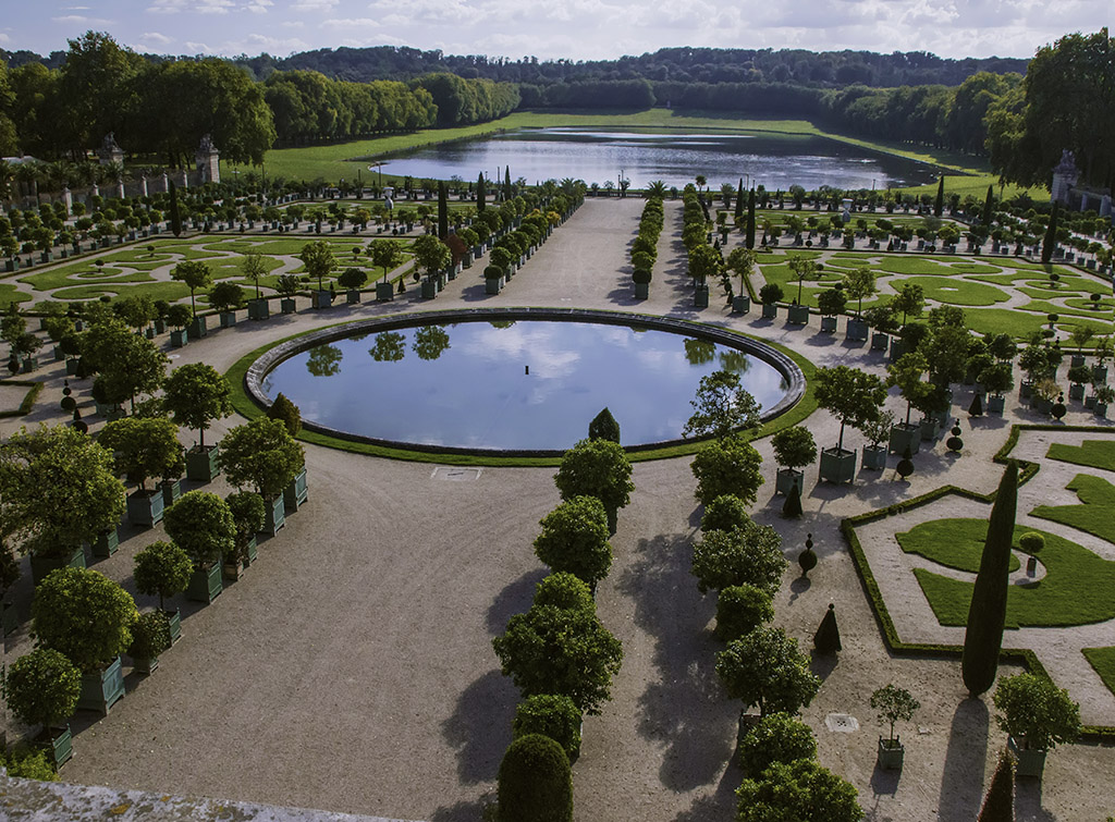 Les jardins de l 39 orangerie ch teau de versailles photo et image paysages ch teau de - Les jardins de l orangerie ...