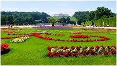 Les jardins de Schönbrunn