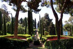 Les jardins de Ste Clothilde, Lloret de Mar, Espagne