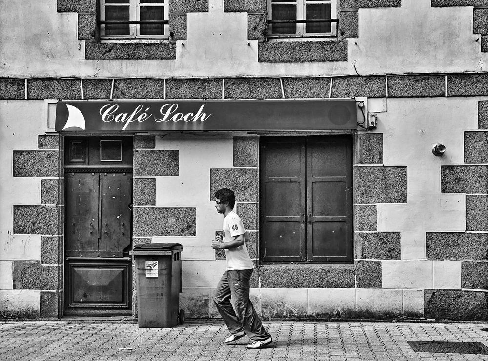les joggeurs avant CAFE LOCH