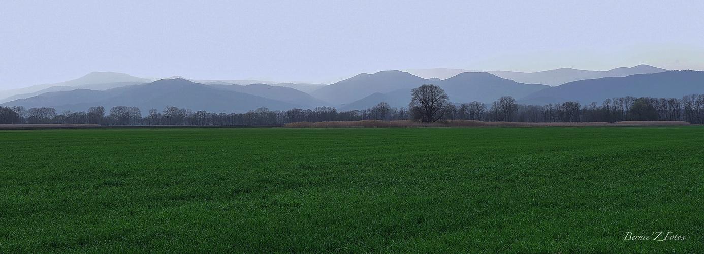 Les lignes bleues des Vosges