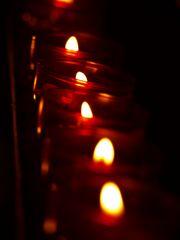 Les lumières de l'église