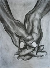 les mains en craie II