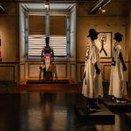 Les mannequins au musée d'arts décoratifs .