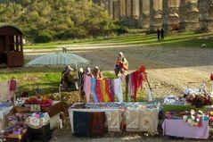 Les marchandes d'Aspendos, Turquie