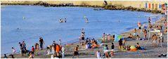 Les marseillais à la plage