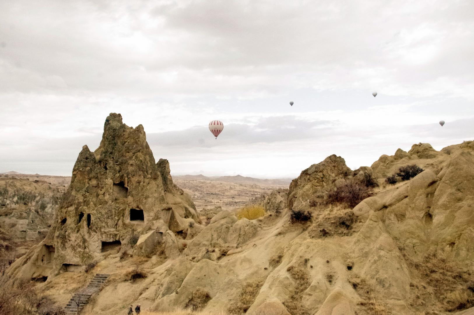 Les montgolfières de la Cappadoce