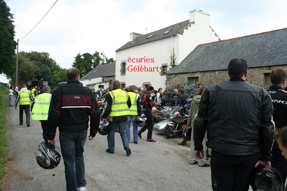 les motards