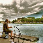 Les pêcheurs du Rhône